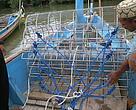Suri, salah satu alat tangkap kerang yang digunakan oleh nelayan di Desa Banjar Kemuning