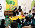Kegiatan Panda Mobile di Cambridge Child Development Center, Depok (02/11/2016).