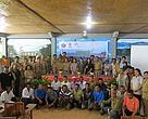 Foto bersama seluruh peserta sosialisasi program perbaikan perikanan tangkap dan budidaya di Kabupaten Buleleng