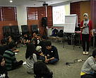 Training public speaking volunteer Panda Mobile dan Bumi Panda.