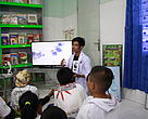 Laboratorium Edukasi Air di Panda Mobile.