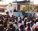 Storytelling oleh Kak Ryan di SDN Bojongloa 2 Rancaekek, Bandung.