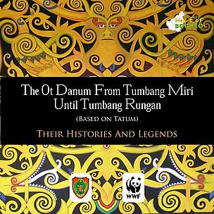 Buku legenda asal-usul suku Dayak diterbitkan