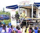 Panda Mobile di Car Free Day Katulampa Bogor (06/11/2016).