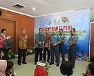 Press conference setelah penandatanganan PKS