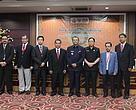 Foto bersama para delegasi saat Trilateral Meeting HoB ke-8