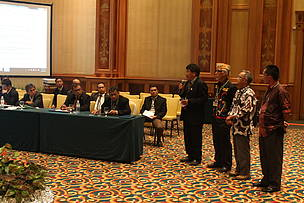 FORMADAT, George Sigar Sultan, Heart of Borneo, John Tarawe, Trilateral Meeting ke 7