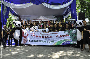 Supporter Gathering Surabaya 2013: Do Better For Earth