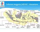 Map of JARING-Nusantara