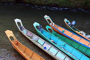 Long Boat, Perahu Panjang, Batang Ai, Sarawak, Heart of Borneo, Malaysia