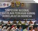 Acara pembukaan Simposium Nasional Perikanan Karang Indonesia dibuka oleh Direktur Pengelolaan Sumber Daya Ikan KKP Toni Ruchimat, 25 November 2015, dan dihadiri juga oleh Direktur Program Coral Triangle WWF-Indonesia Wawan Ridwan.
