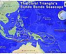 Dalam garis merah, kawasan Bentang Laut Sunda Banda