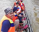 Tim Penilaian di Perahu mesin