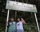 Joe dan Ariyo berada di Rimbang Baling
