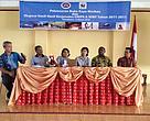 Peluncuran Buku Kayu Merbau di Universitas Negeri Papua.
