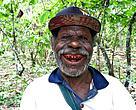 Foto Nathaniel Yaru, Ketua Kelompok Tani kakao